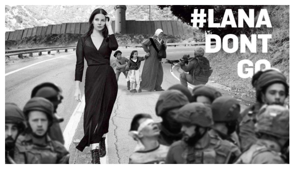 BDS propaganda