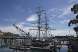 The Brig Pilgrim, one of two beautiful tall ships at the Ocean Institute