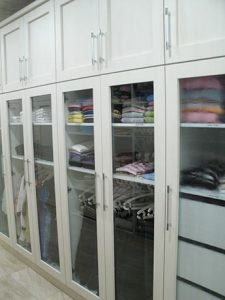 You could have a share in this closet by donating a dress