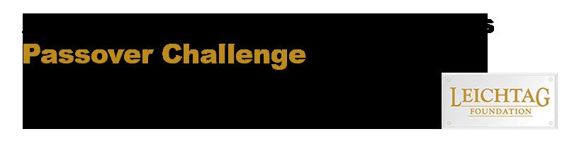 LF Passover Challenge banner