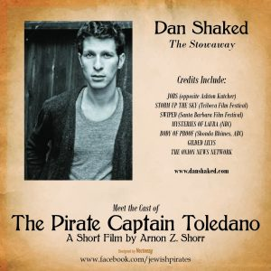 Dan Shaked as The Stowaway