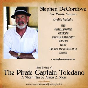 Stephen DeCordova as The Pirate Captain