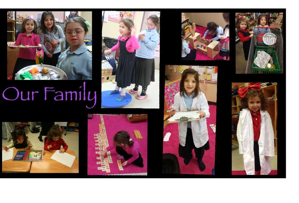a homeschool in a classroom family