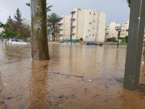 Sderot Under Water 6/13/18 10 am